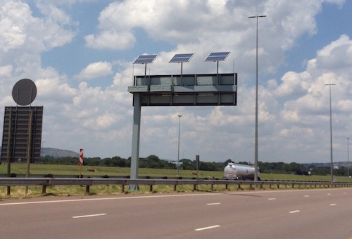 0,8kWp Solar Powered Gantry