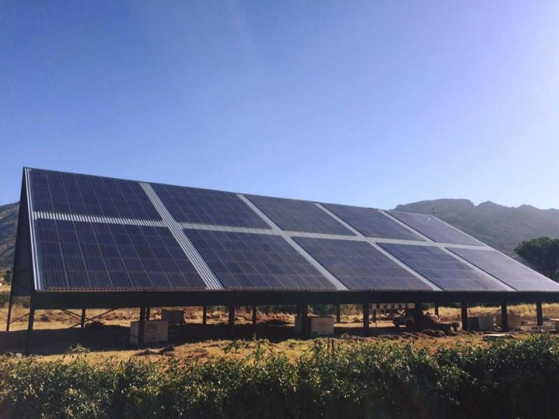 100kWp OAST Farm Solar