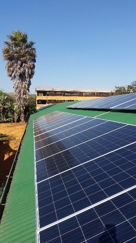 36kWp Grid Tied PV System