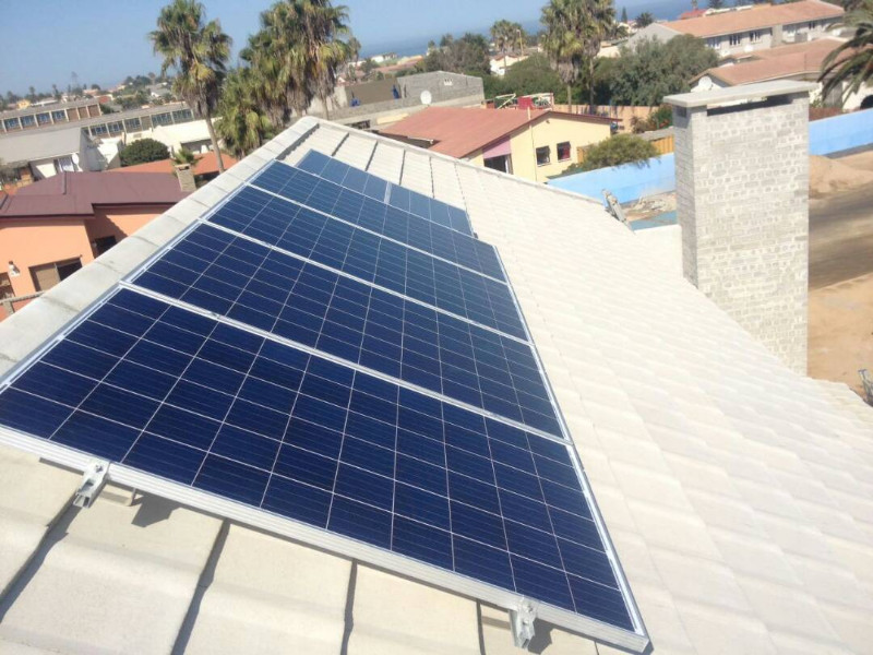 18kWp Residential development Namibia